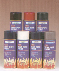 Gas Vent Pipe Paint